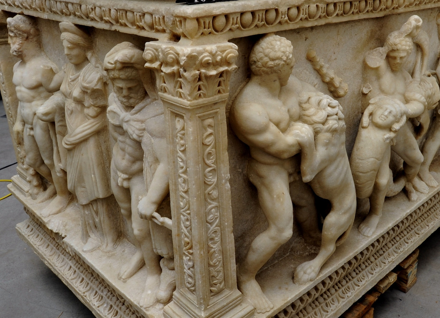 How did the Perge Hercules Sarcophagus find its way back to Turkey?