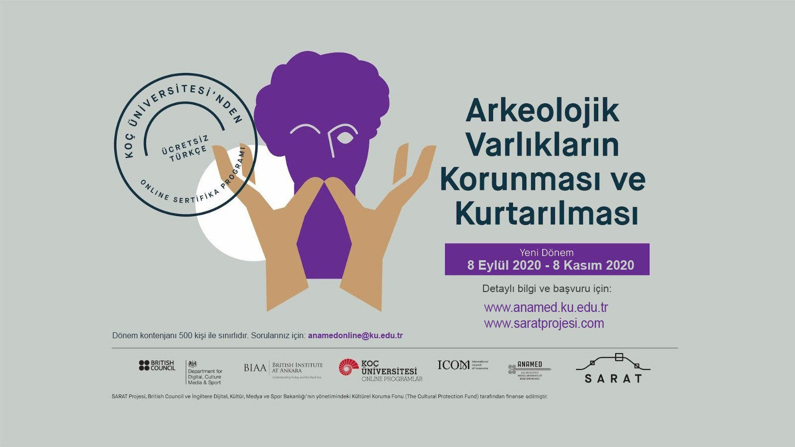 Koç Üniversitesi ve SARAT Projesi Online Sertifika Programı