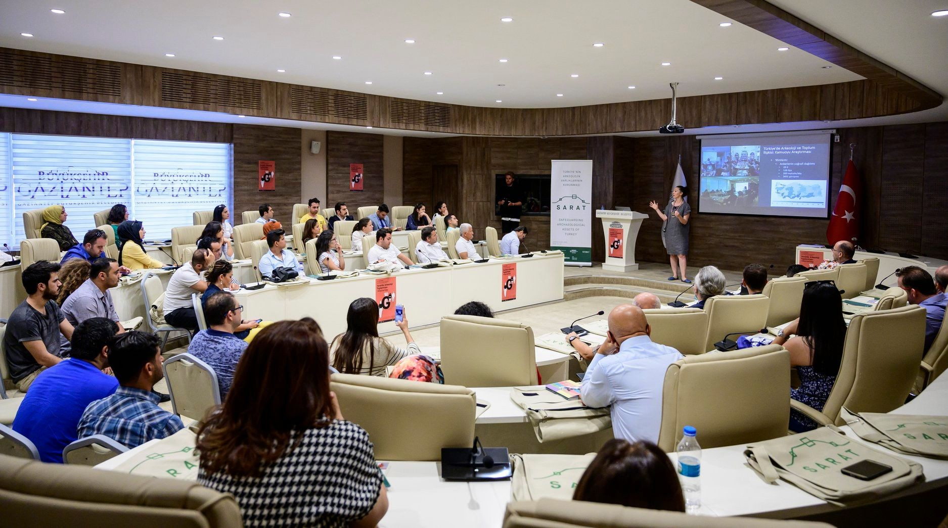 Gaziantep becomes the second stop for Archaeology in Local Context Workshops