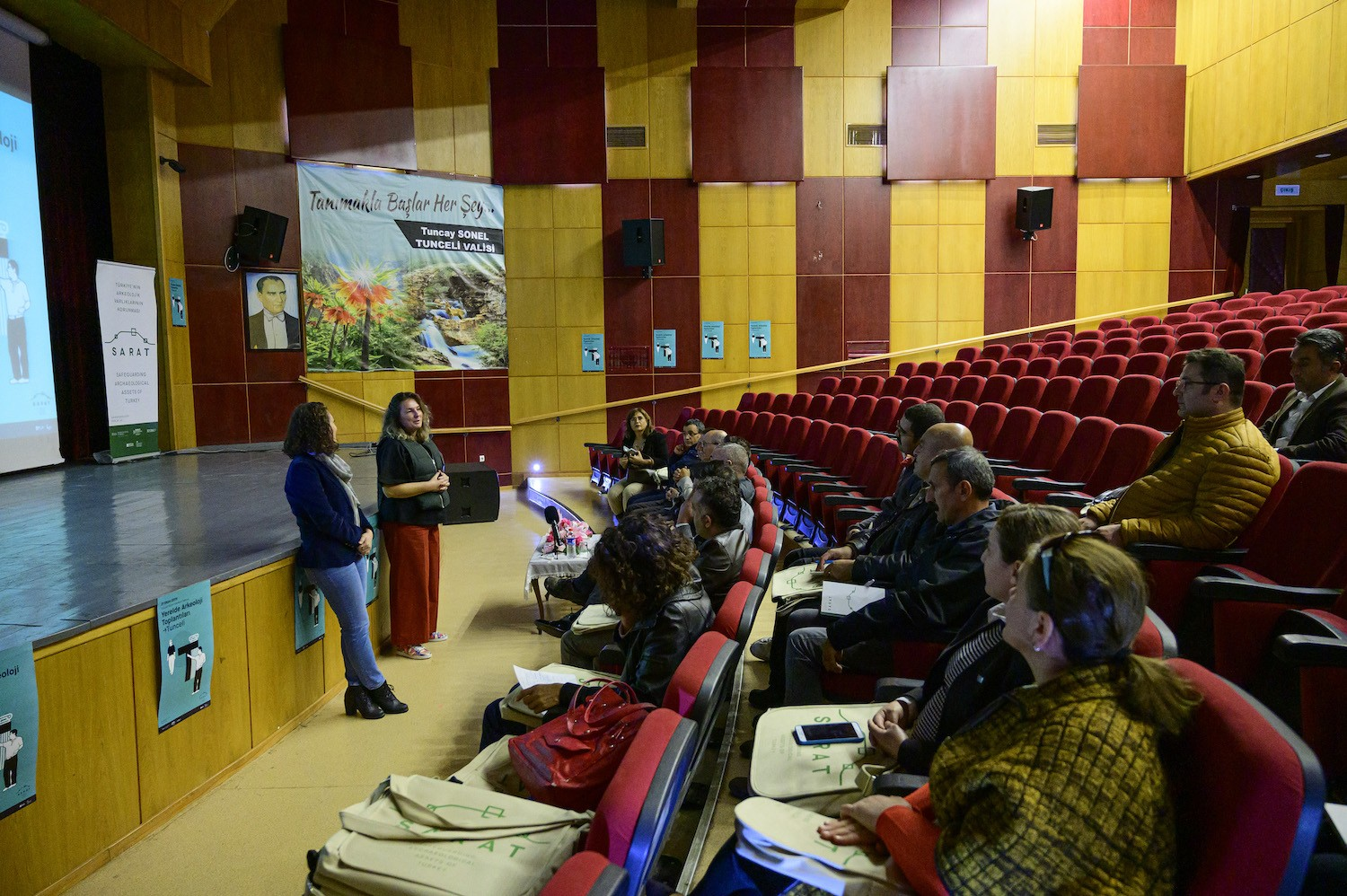 The fourth stop of Archaeology in Local Context Workshops: Tunceli